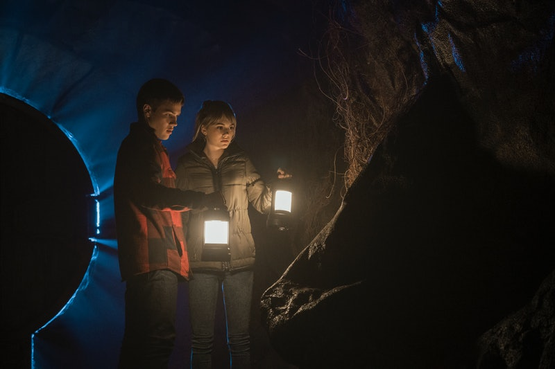 Connor Jessup and Emilia Jones in 'Locke & Key'