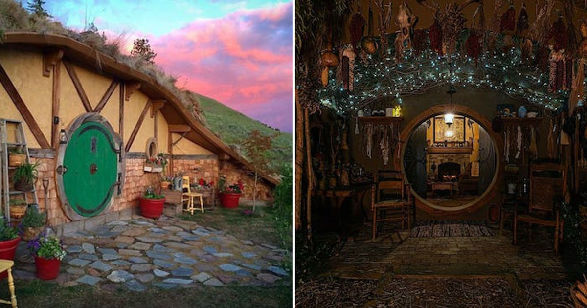 These 'Hobbit'-Style Airbnbs Will Transport You To The Shire