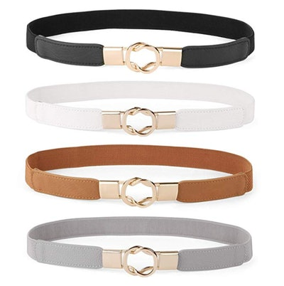 WERFORU Skinny Belt for Dresses