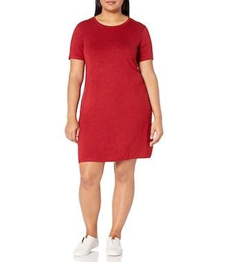 Daily Ritual Women's Plus Size Jersey T-Shirt Dress