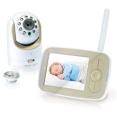 Infant Optics DXR-8 Video Baby Monitor with Interchangeable Optical Lens
