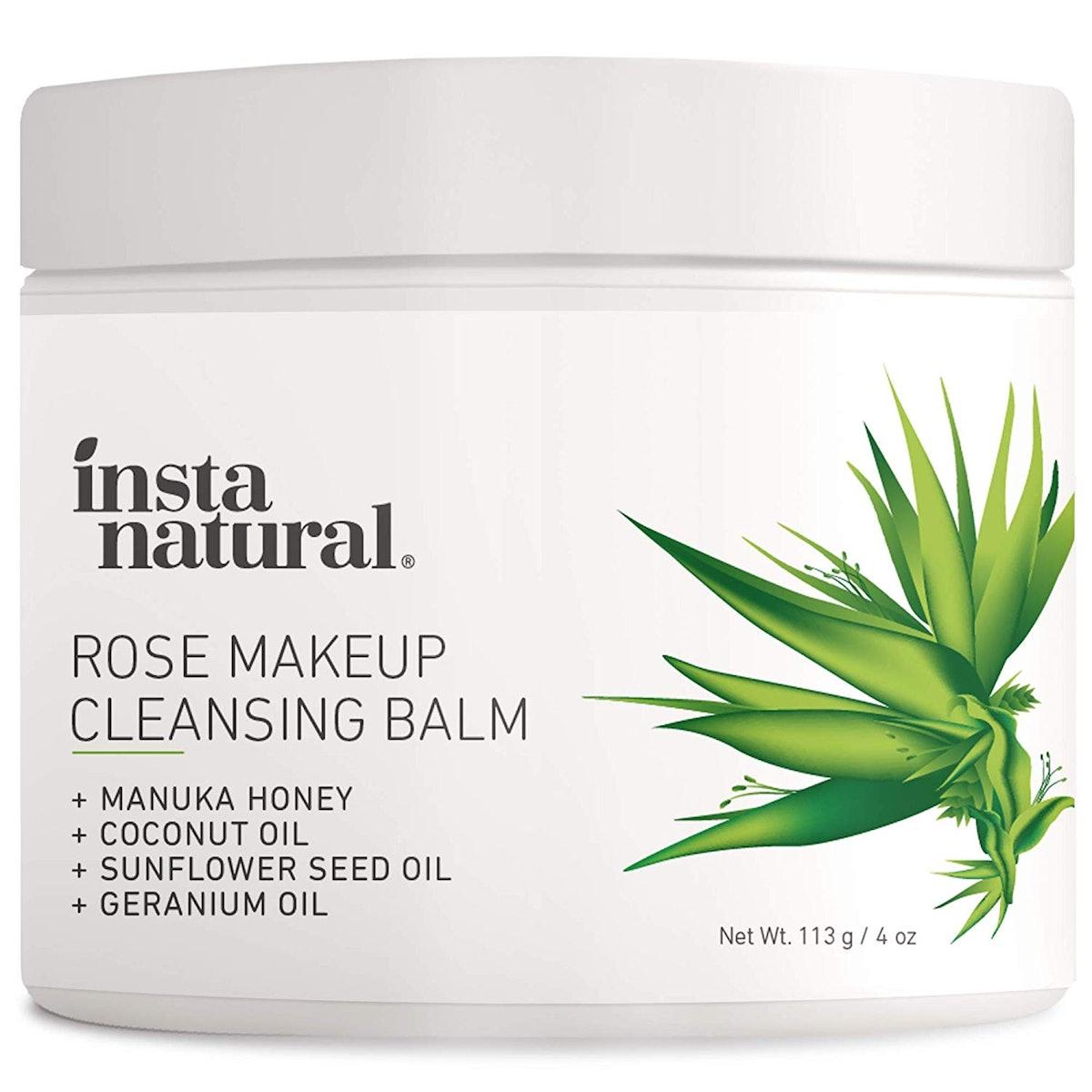 InstaNatural Rose Makeup Cleansing Balm