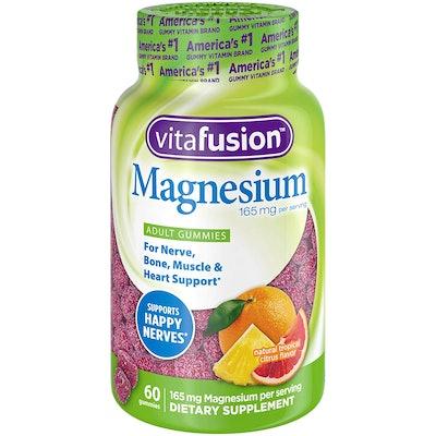 Vitafusion Magnesium Gummy Supplement (60 count)