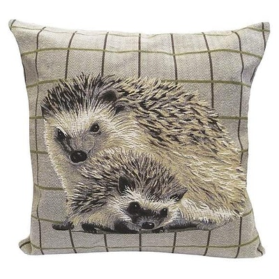 Tapestry Hedgehog Cushion