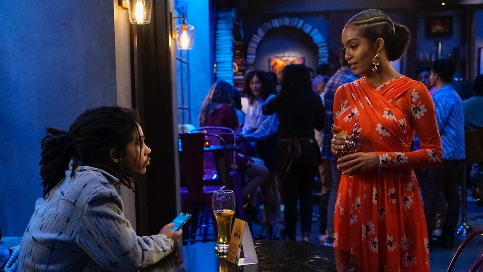 Zoey & Luca showed what happens if you try to get back together with your ex, on 'grown-ish.'