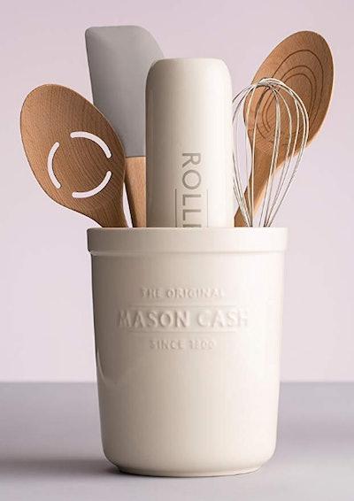 Mason Cash 2-In-1 Kitchen Utensil Pot And Trivet