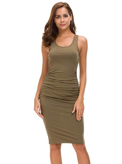 Missufe Women's Fitted Casual Dress