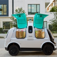 Nuro's driverless delivery vehicle is coming to Houston