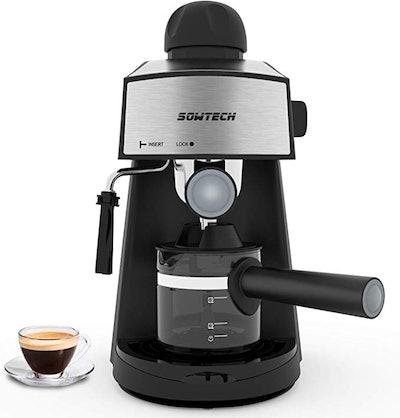 Sowtech Espresso Machine 3.5 Bar 4 Cup Espresso Machine