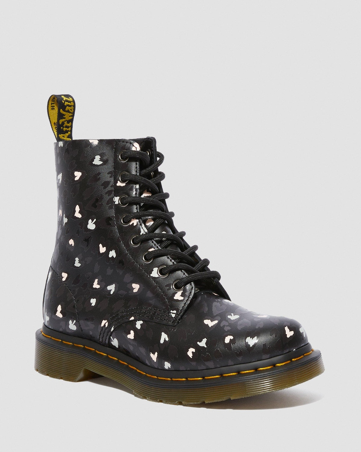1460 Pascal Wild Hearts Lace Up Boots