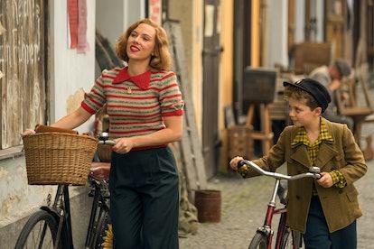 Scarlett Johansson and Roman Griffin Davis 'Jojo Rabbit'