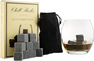Quiseen Whiskey Stones (9-Piece Set)
