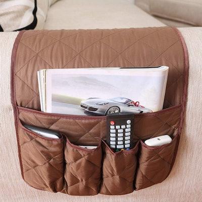 ZONK Anti-Slip Armchair Caddy
