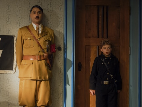 'Jojo Rabbit' Taika Waititi and Roman Griffin Davis