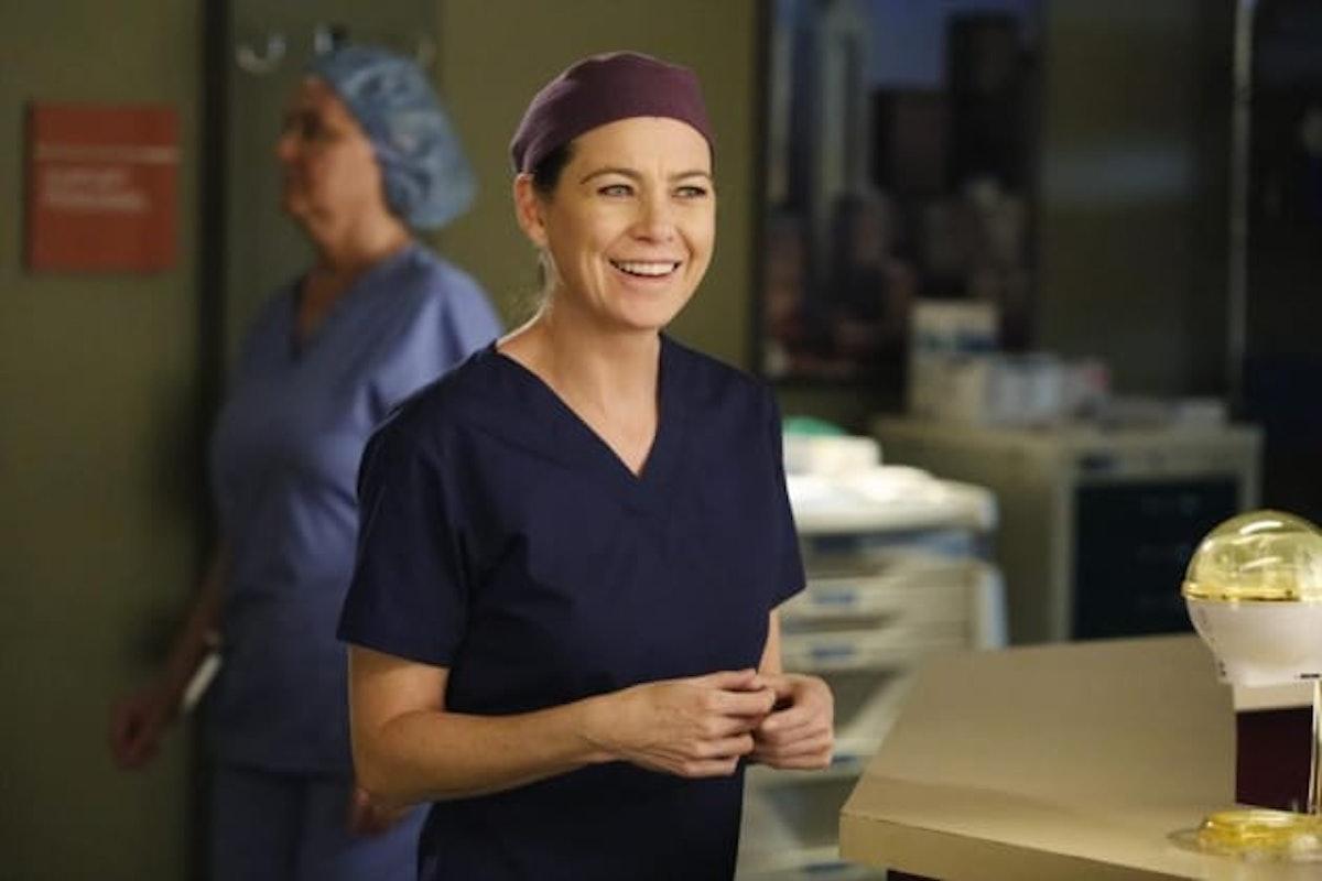 Meredith Grey on 'Grey's Anatomy'