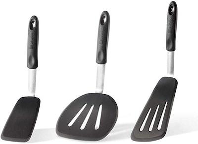 Di Oro Chef Series 3-Piece Silicone Turner Spatula Set