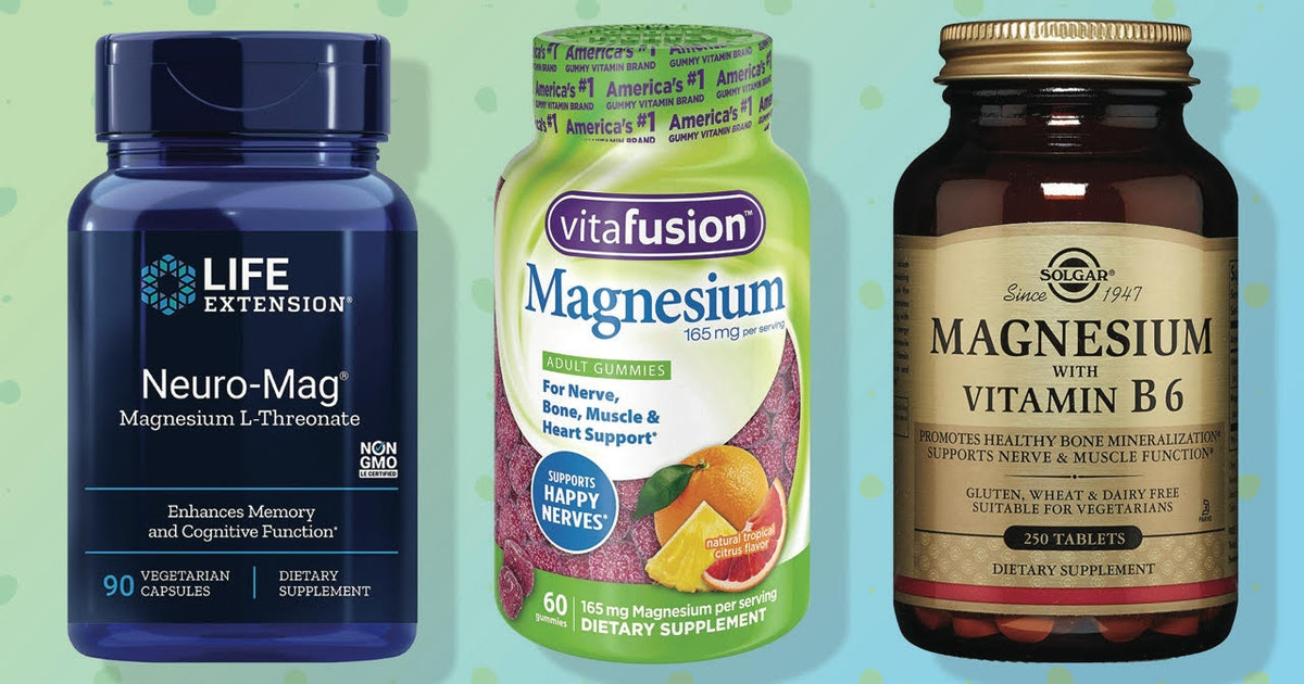 These Are The Best Magnesium Supplements For Anxiety — According To An Expert
