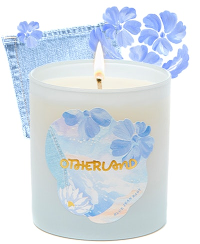 Blue Jean Baby candle