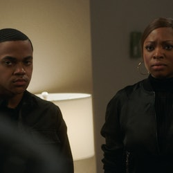 Tariq and Tasha in Power Season 6