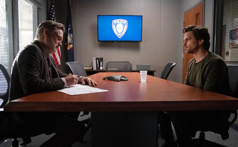 Bill Pullman as Detective Lt. Harry Ambrose and Matt Bomer as Jamie Burns in The Sinner Season 3