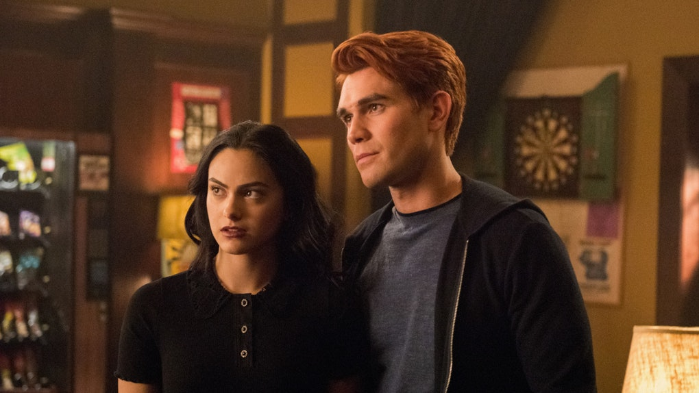 Veronica and Archie on 'Riverdale'