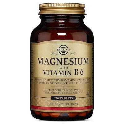 Solgar Magnesium With Vitamin B6 (250 tablets)