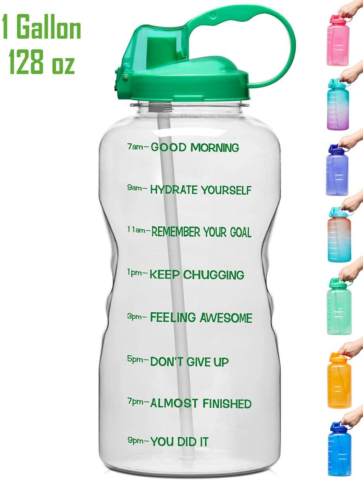 Venture Pal Motivational Time Marker Water Bottle