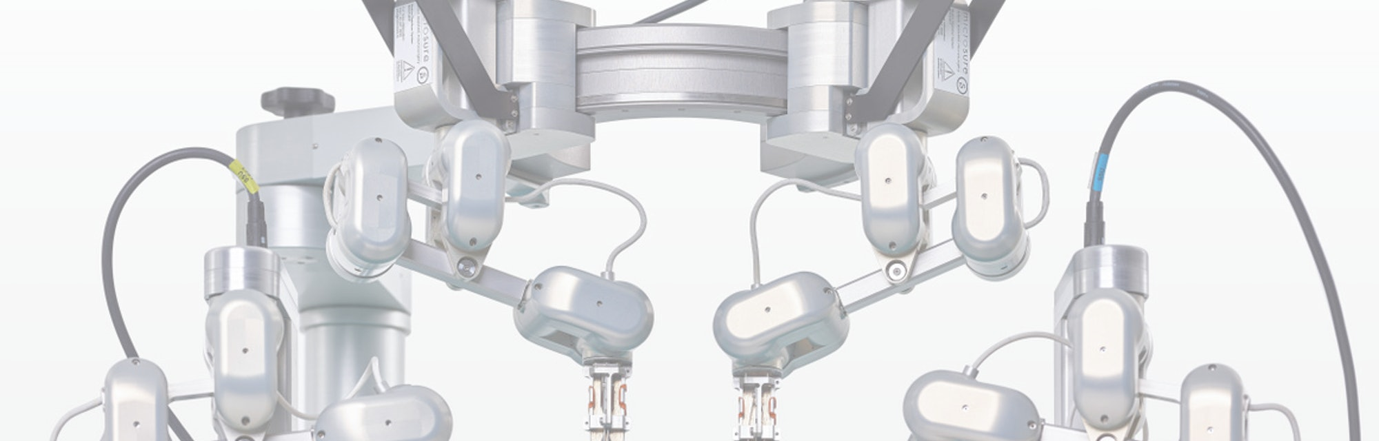 MicroSure's robotic supermicrosurgery platform as used in the trials.