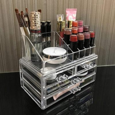 Ikee Design Acrylic Cosmetic Storage