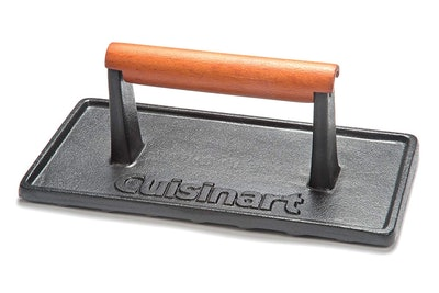 Cuisinart Cast Iron Grill Press (8.8 by 4.4 by 3.5 inches)