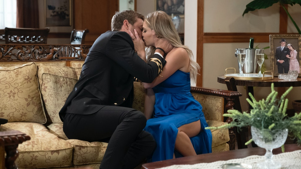 Kelsey and Peter on 'The Bachelor'