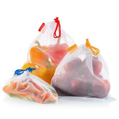 Vandoona Reusable Mesh Produce Bags (Set of 9)