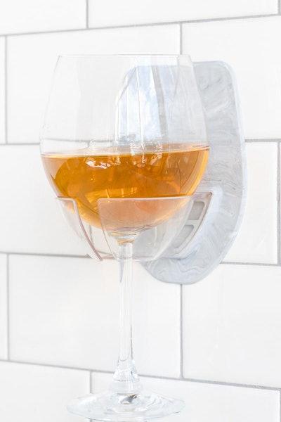 Sipski Marble Shower Wine Holder