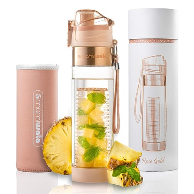 MAMI WATA Fruit Infuser Water Bottle (24 Oz)