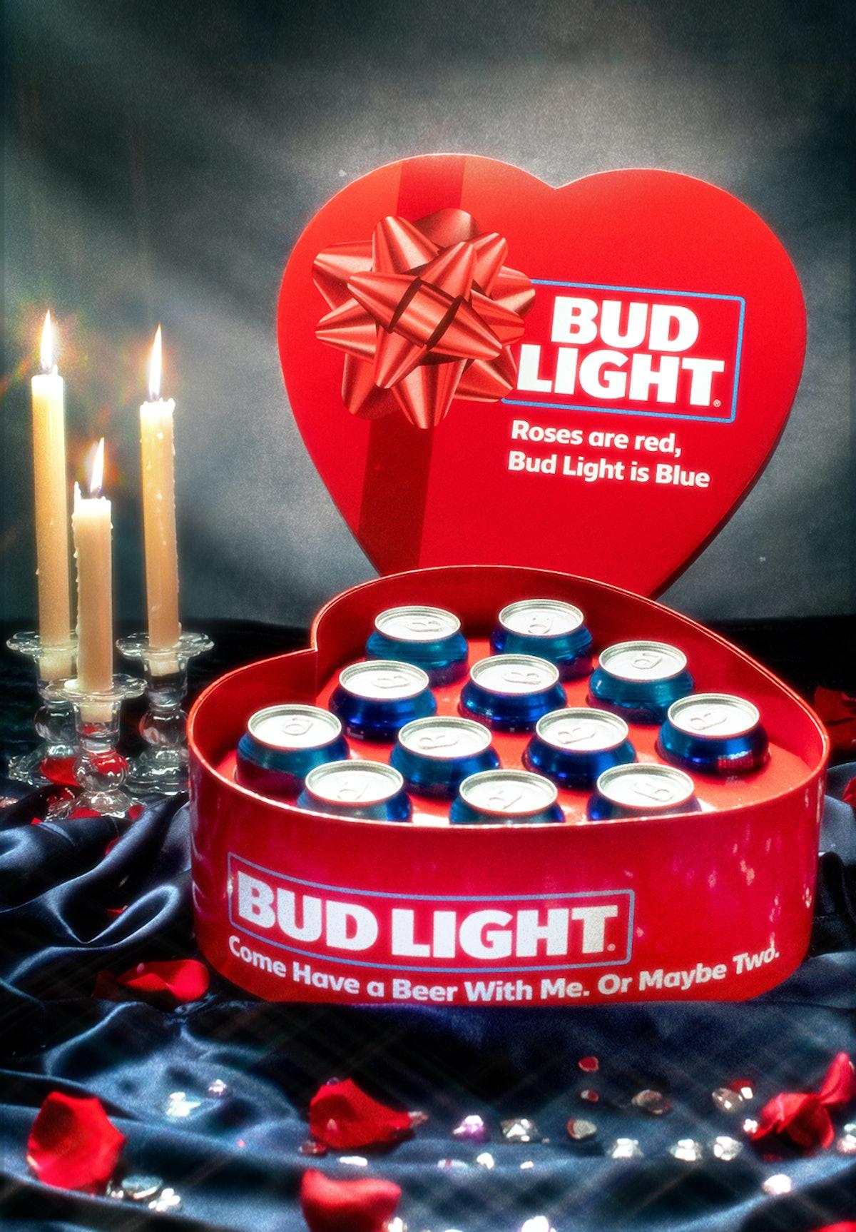 Bud Light Valentine's Day Box