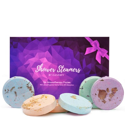 Cleverfy Shower Bombs with Essential Oils (Set of 6)