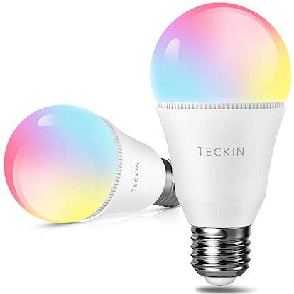 TECKIN Smart Light Bulb (2-Pack)