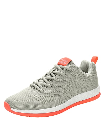 PYPE Women Contrast Sole Breathable Mesh Running Shoes