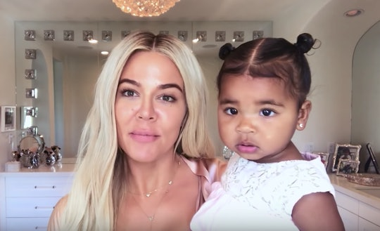 Khloe Kardashian took to Instagram to share the most adorable videos of daughter, True Thompson, and niece Dream Kardashian, painting.