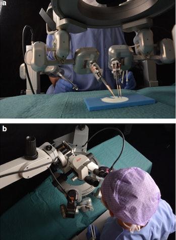 robot surgery