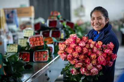 Whole Foods is offering a deal on two dozen roses for just $19.99.