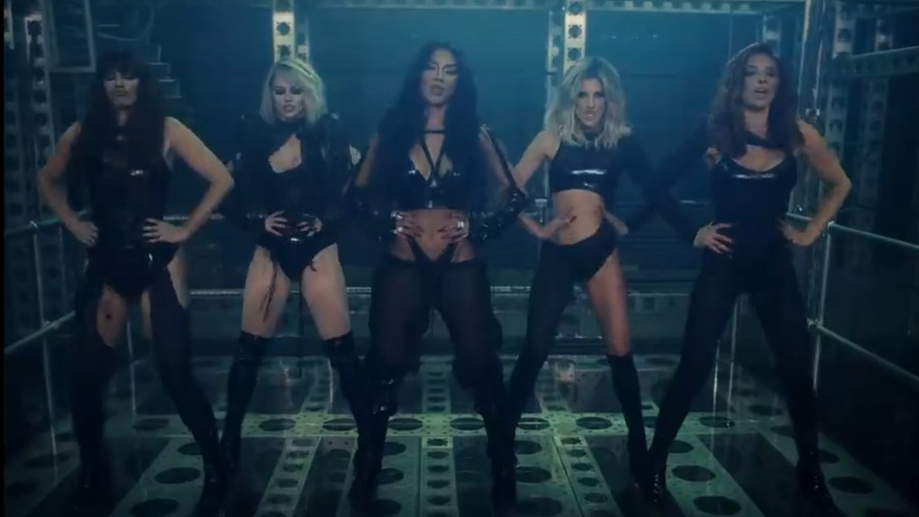 """Pussycat Dolls """"React"""" Music Video Is here!"""