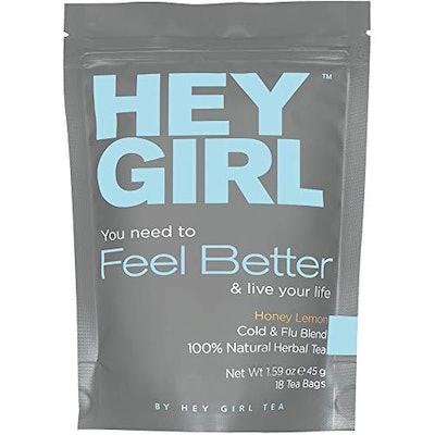 Hey Girl Tea Immune System Booster Feel Better Herbal Tea