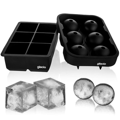 Glacio Silicone Ice Cube Trays (2-Pack)