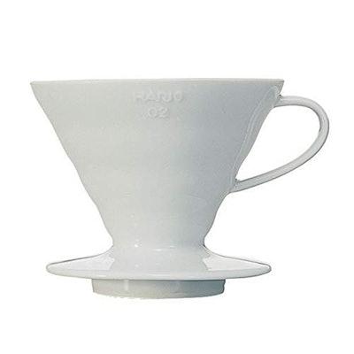 Hario V60 Ceramic Pour Over Coffee Dripper