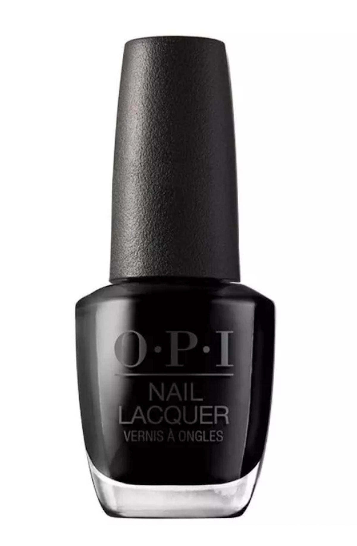 OPI Polish in Black Onyx
