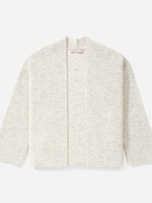 Everlane Twisted Merino Cardigan