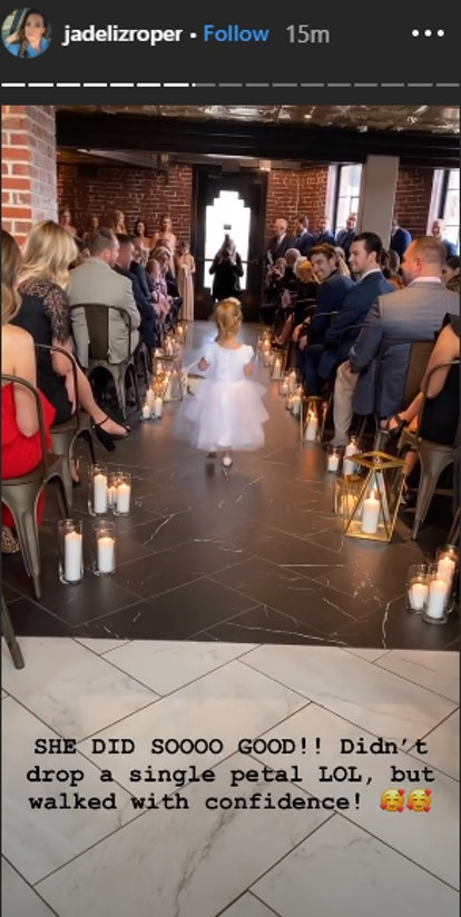 JJ Lane and Kayla Harris got married surrounded by Bachelor Nation alums