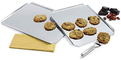 Norpro 12 Inch x 16 Inch Stainless Steel Cookie Sheet