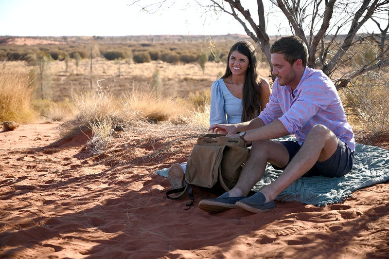 Madison and Peter Weber on The Bachelor